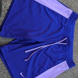 NWOT Nike Dri Fit Purple Running Shorts Size XS
